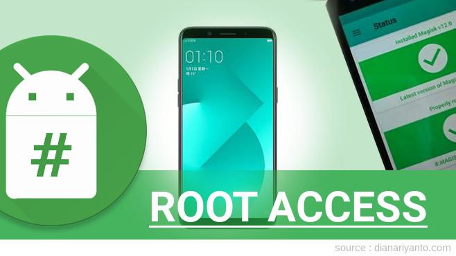 Root OPPO A83 Tanpa PC